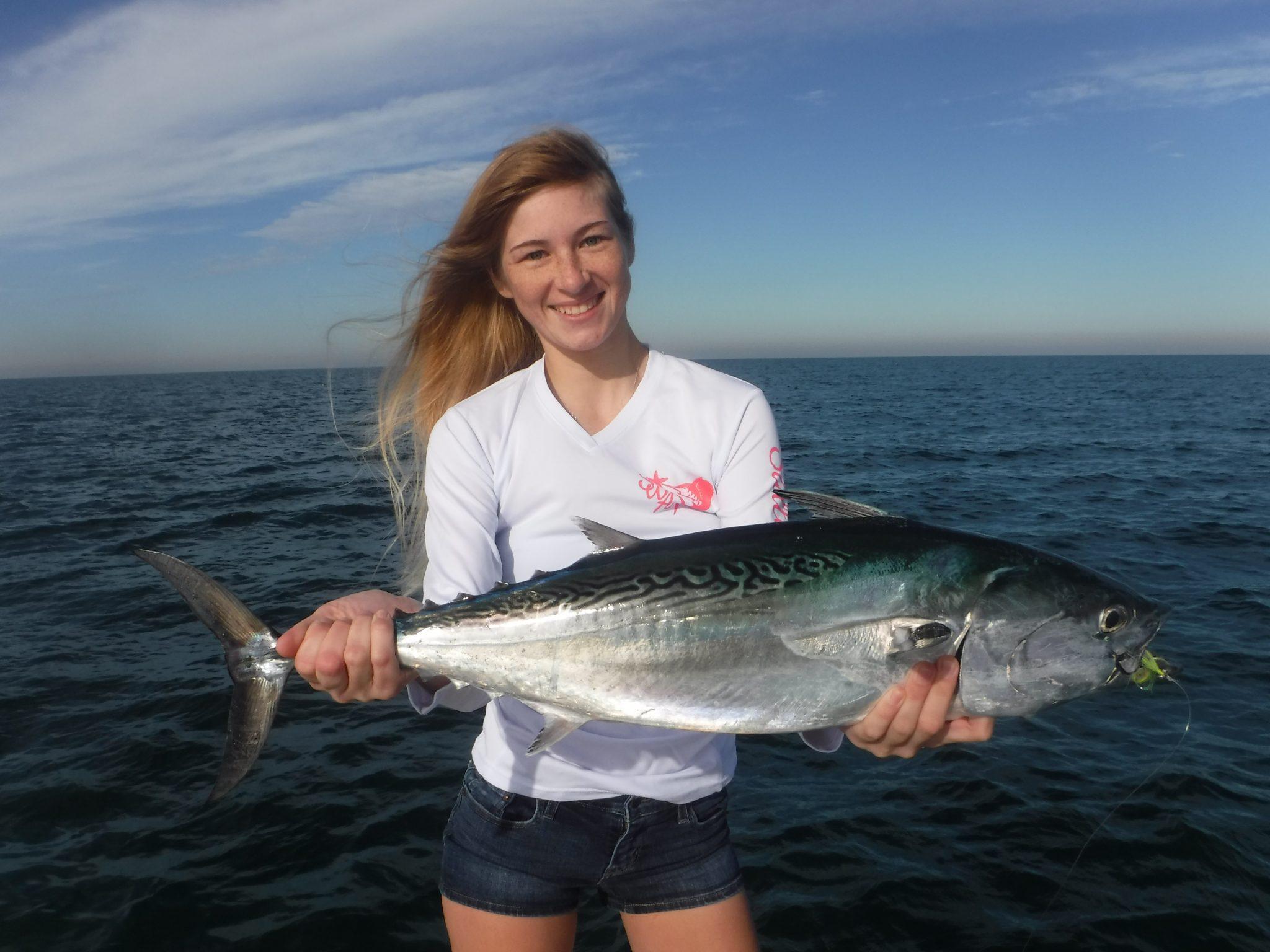 False albacore fishing